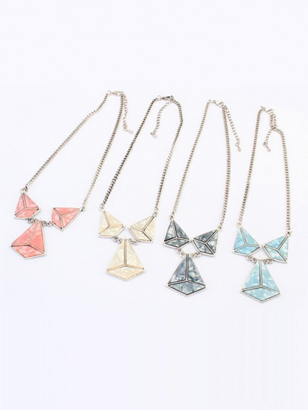 Occident Retro Punk Hyperbolic Geometry Hot Sale Necklace