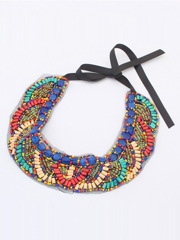 Occident Bohemia Ethnic customs Hot Sale Necklace - E