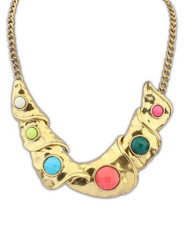 Occident Hyperbolic Personality Metallic Geometry Hot Sale Necklace