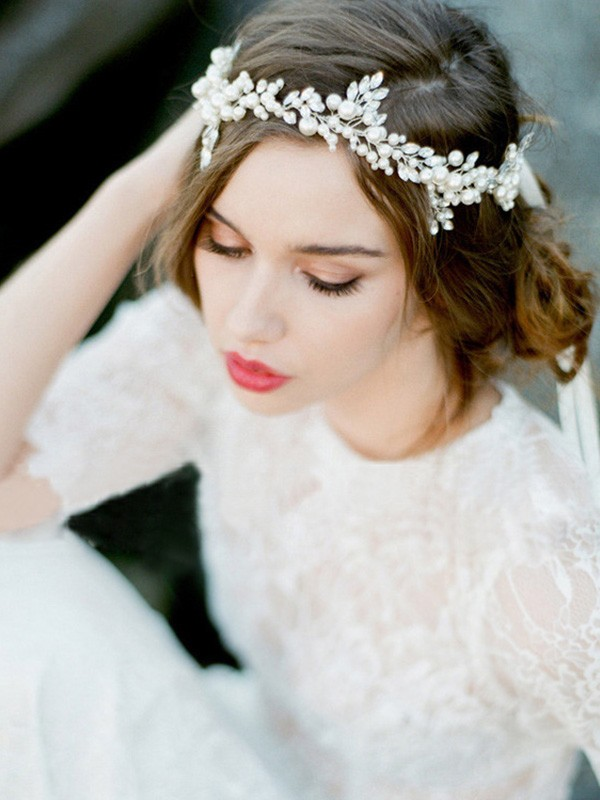 Brilliant Czech Pearl Headpieces